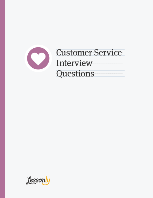 customer service interview questions