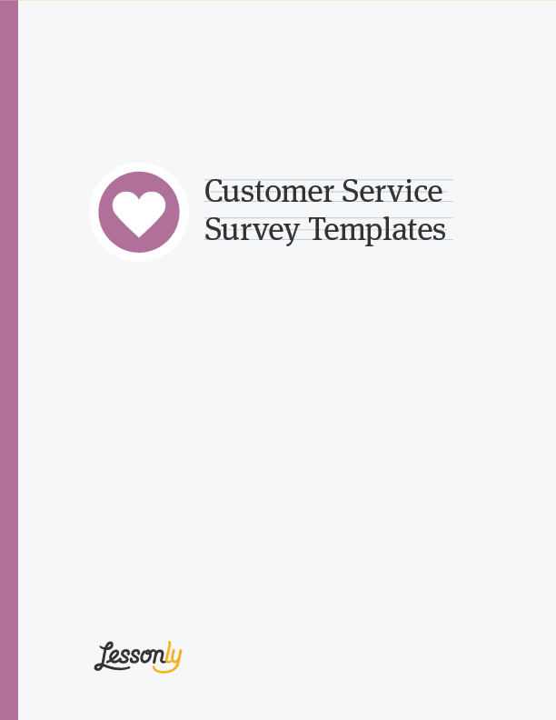 Customer service surveys