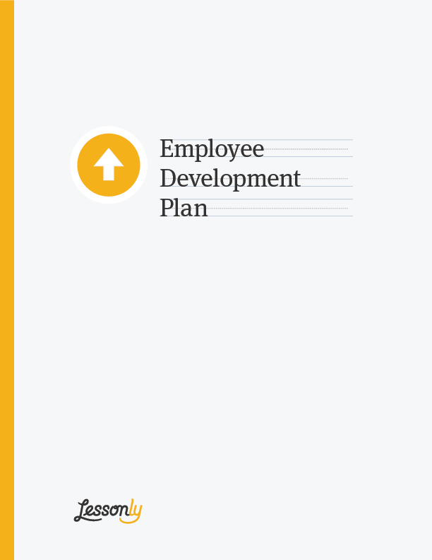 FREE Employee Development Plan Template Lessonly – Employee Development Template