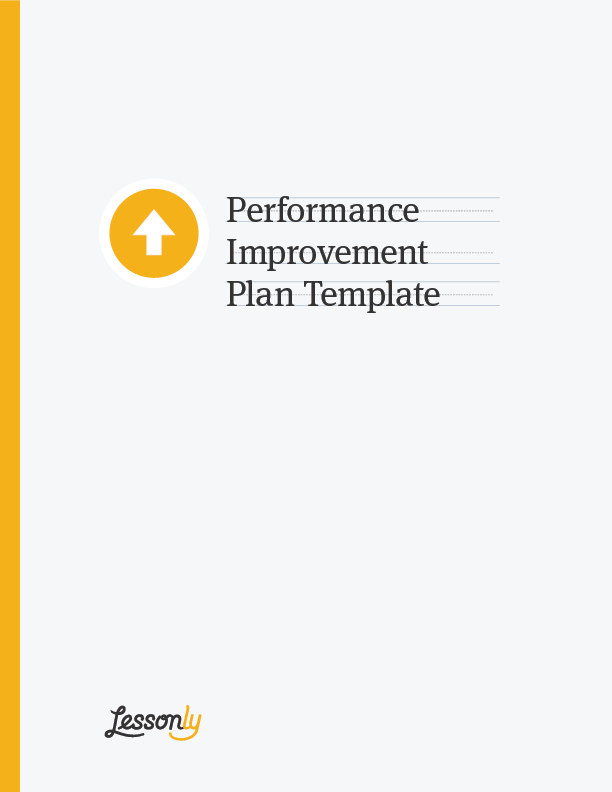 Free Performance Improvement Plan Template  Employee Performance Improvement Plan Template