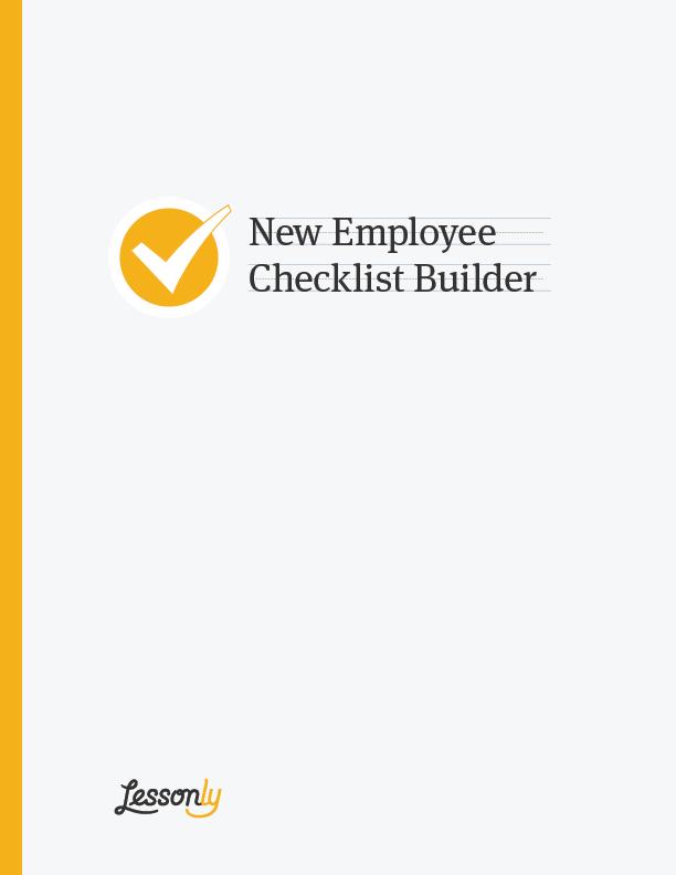 new employee checklist sample