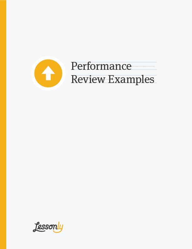 free performance review examples