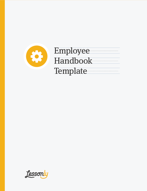 personnel manual template - free employee handbook template lessonly