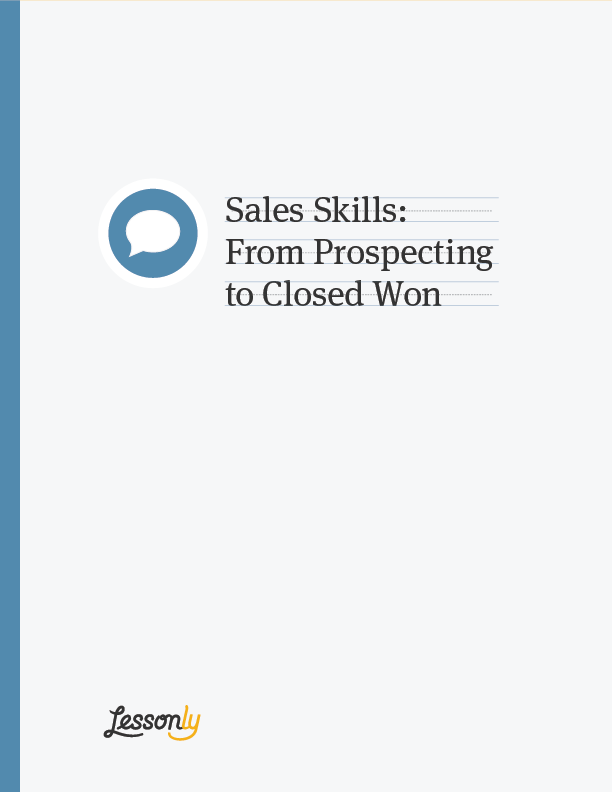 salesman skills list