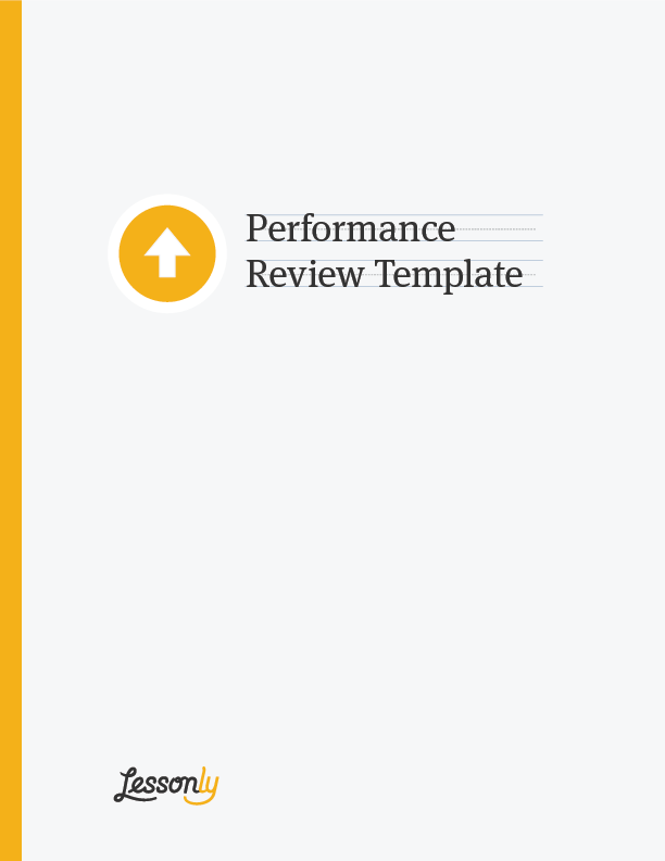 FREE Performance Review Template Lessonly – Performance Appraisals Templates