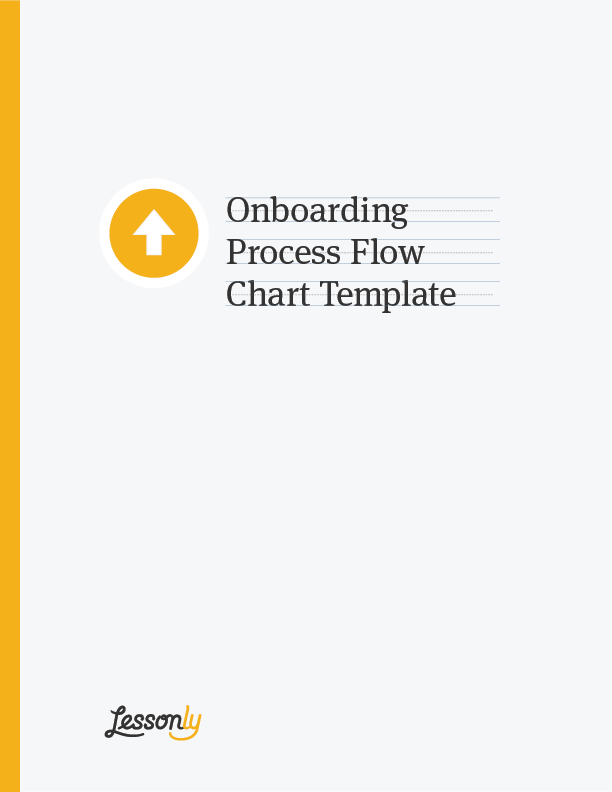 employee handbook cover page template - free onboarding process flow chart template lessonly