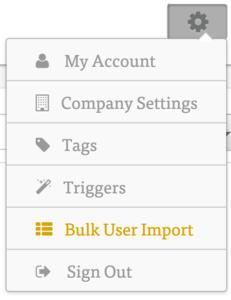 bulk uploading users