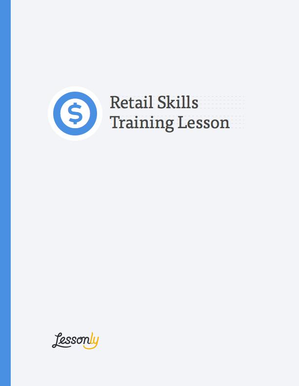 list of retail skills