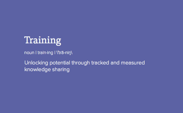 Define Training