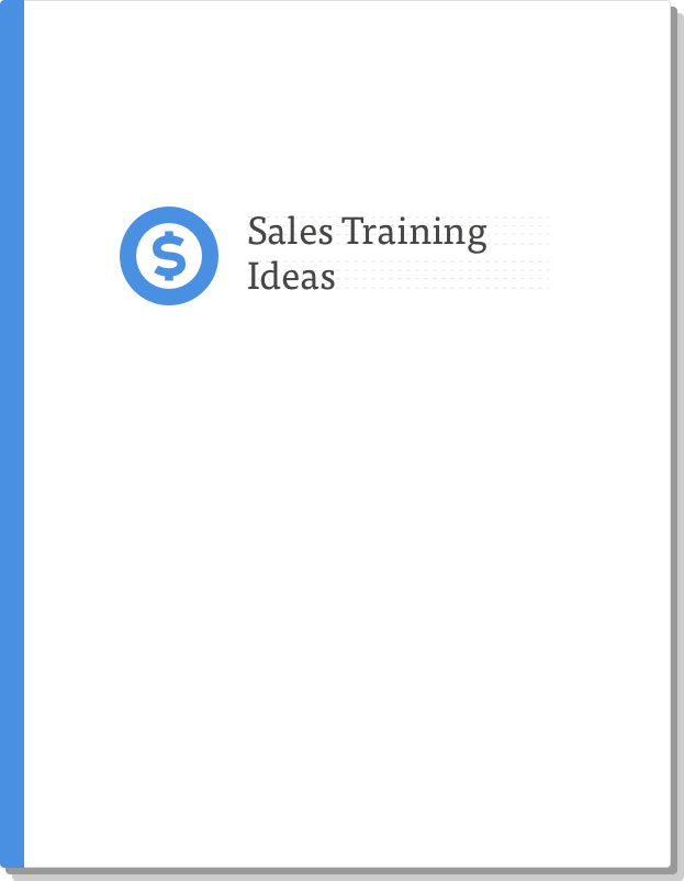 sales training ideas