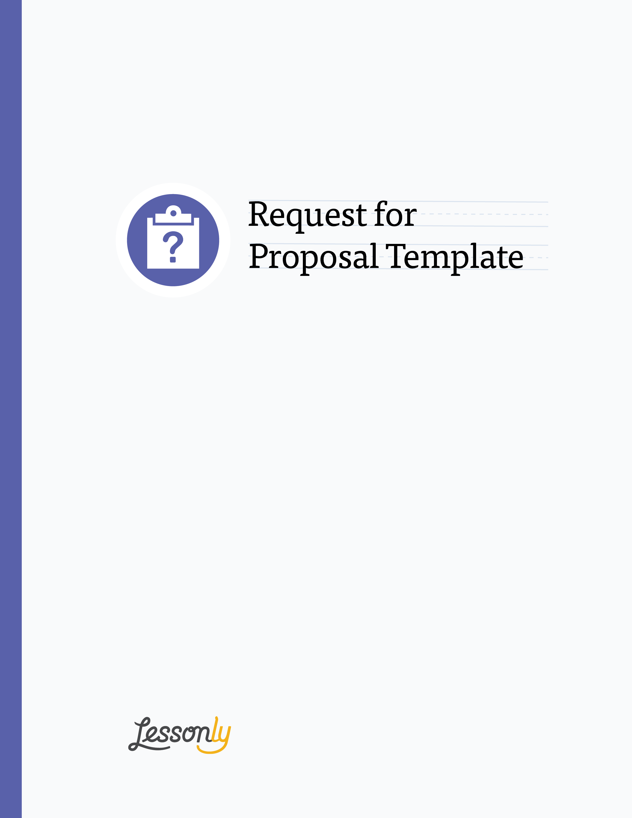 Free lms request for proposal template lessonly for Request for bids template