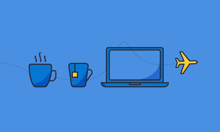 Coffee, Tea or Laptop?
