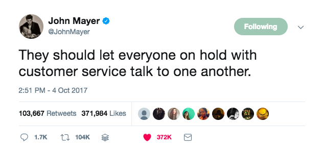 tweet customer service training manual john mayer