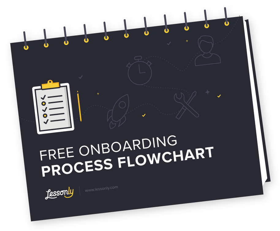 Free Onboarding Process Flowchart Lessonly