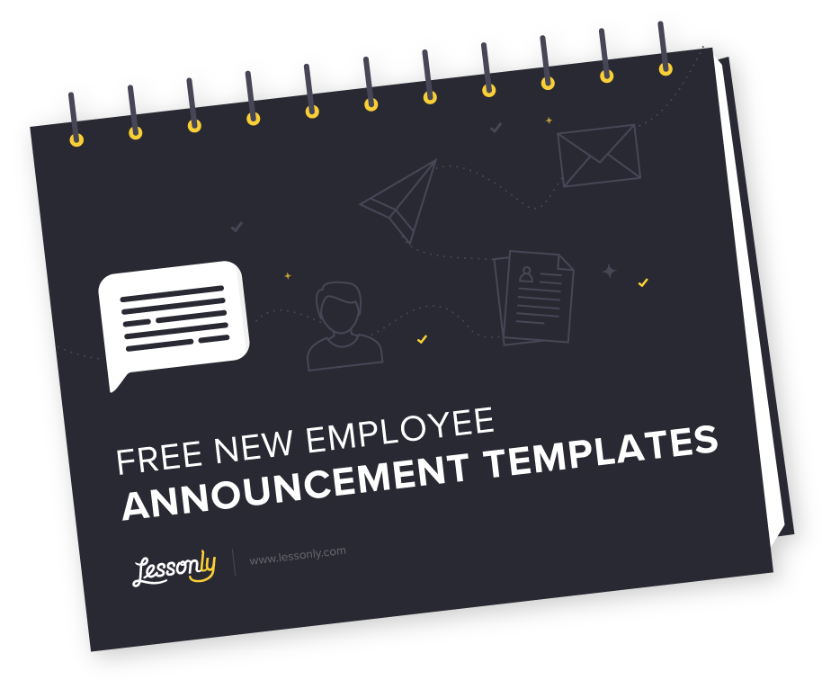 Free New Employee Announcement Templates - Lessonly