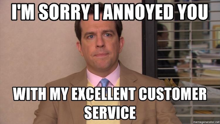 Positive Customer Service Memes
