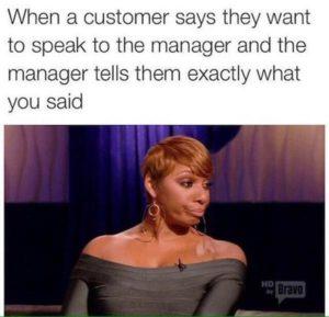 Bad Customer Meme