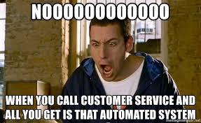 Customer Service Voice Meme