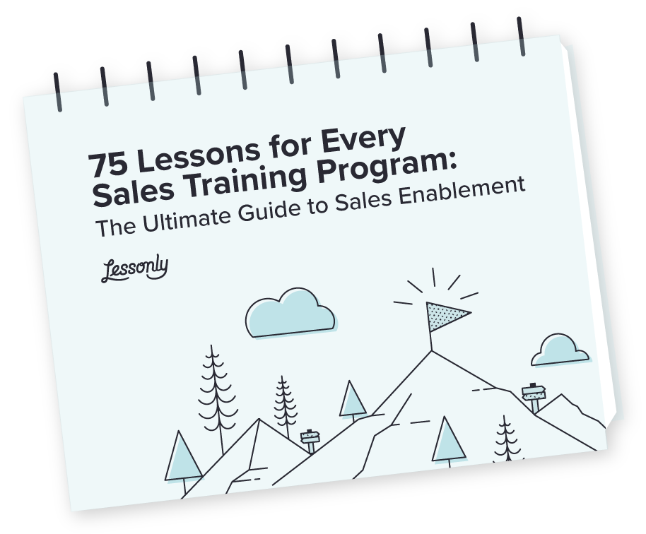 75 Lessons for your Sales Training Program