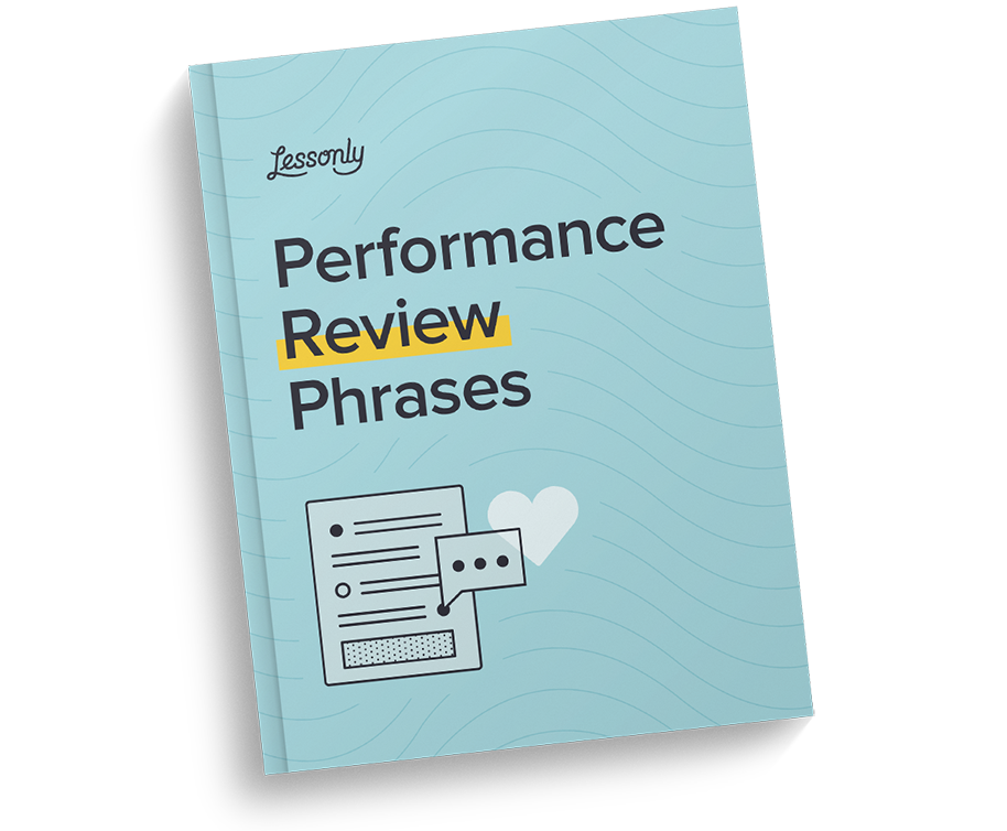 Free Performance Review Phrases Cheatsheet