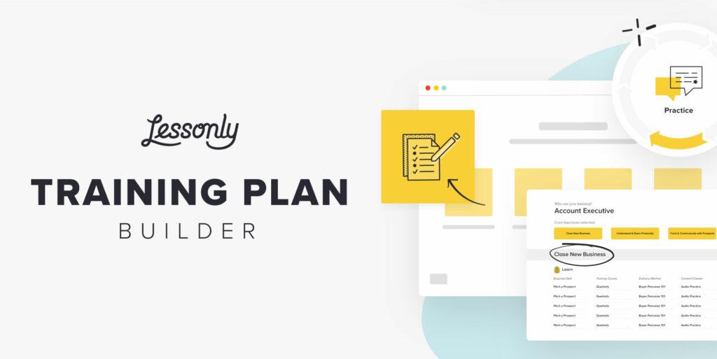 Lessonly Training Plan Builder