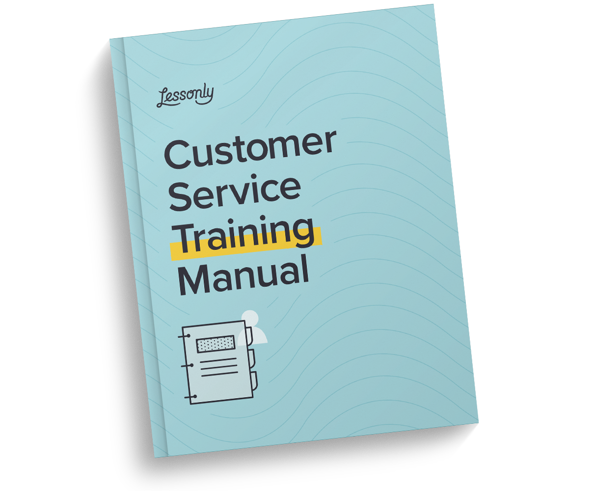 Get your free customer service training manual template