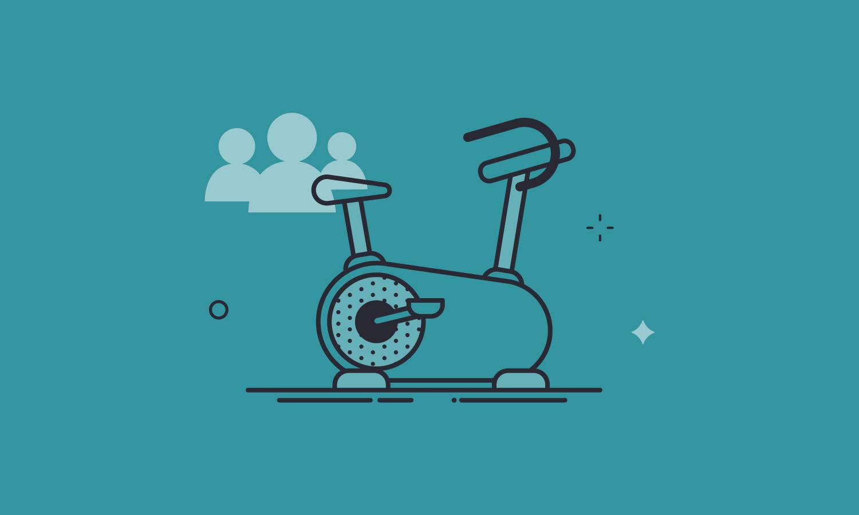 stationary bike training and development methods
