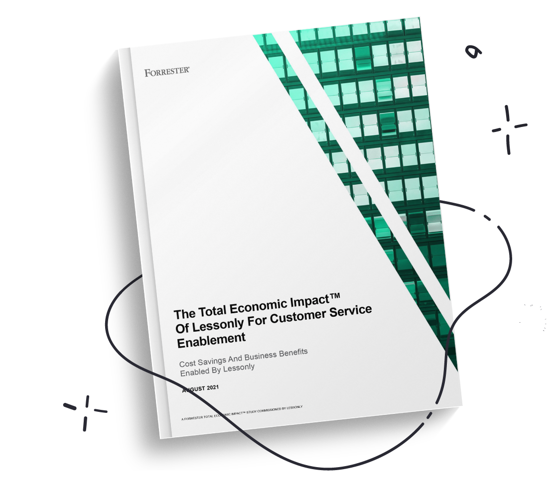 Book cover of Forrester TEI Sales Report